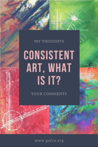 Consistent art, what is it-