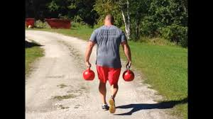 Kettle bell farmers walk