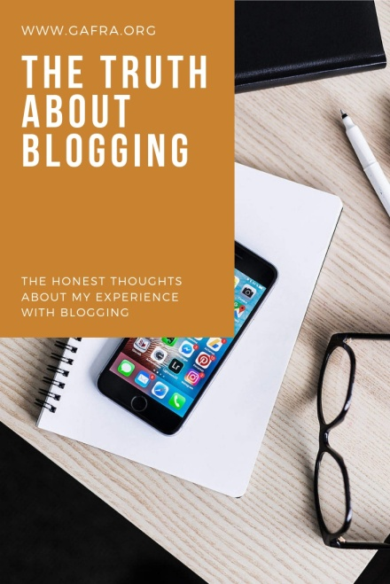 The Truth About Blogging