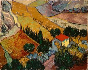art style - post-impressionism