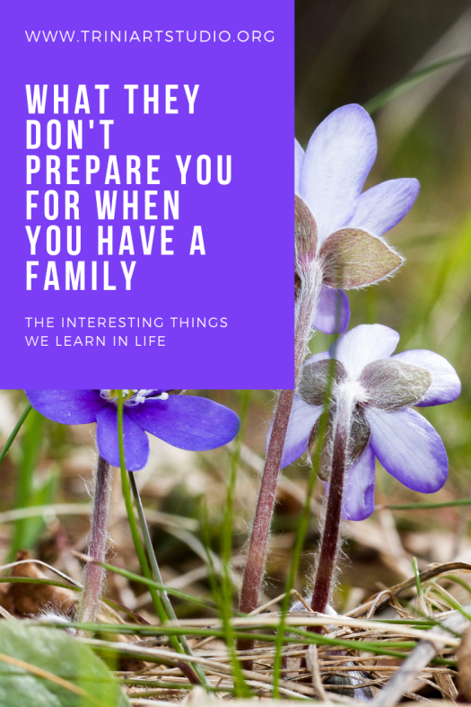 What They Don't Prepare You For When you have a family (1)